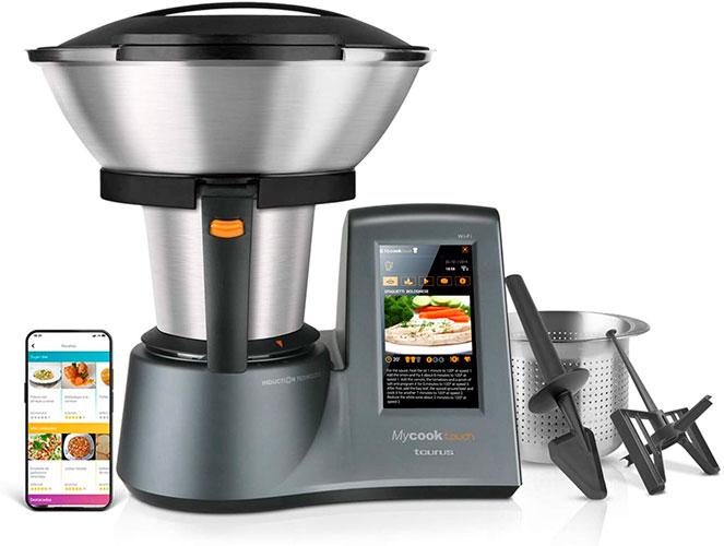 Robot de Cocina Taurus-Mycook-Touch500. Dieta Saludable
